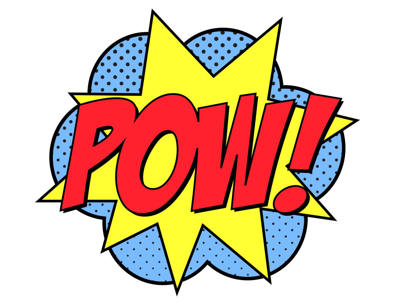 1500x1159 Batman Pow Clipart