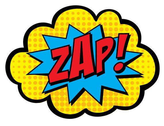 570x440 Zap Pow Bam Clip Art