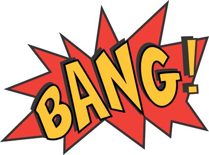 425x314 Graphics For Cartoon Bam Pow Batman Graphics