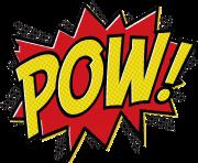 180x148 Batman Clipart Pow Png
