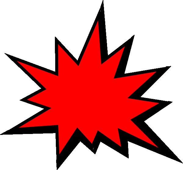 600x557 Red Comic Pow Clip Art
