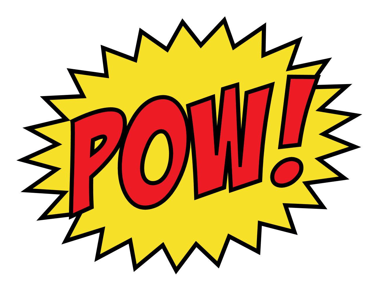 1300x1000 Batman Pow Clipart 2165505