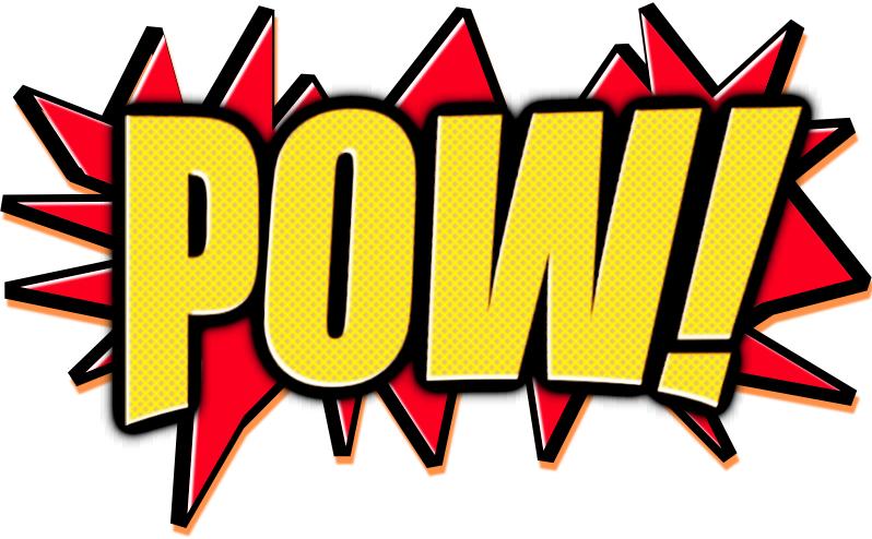 798x494 Batman Pow Font Group