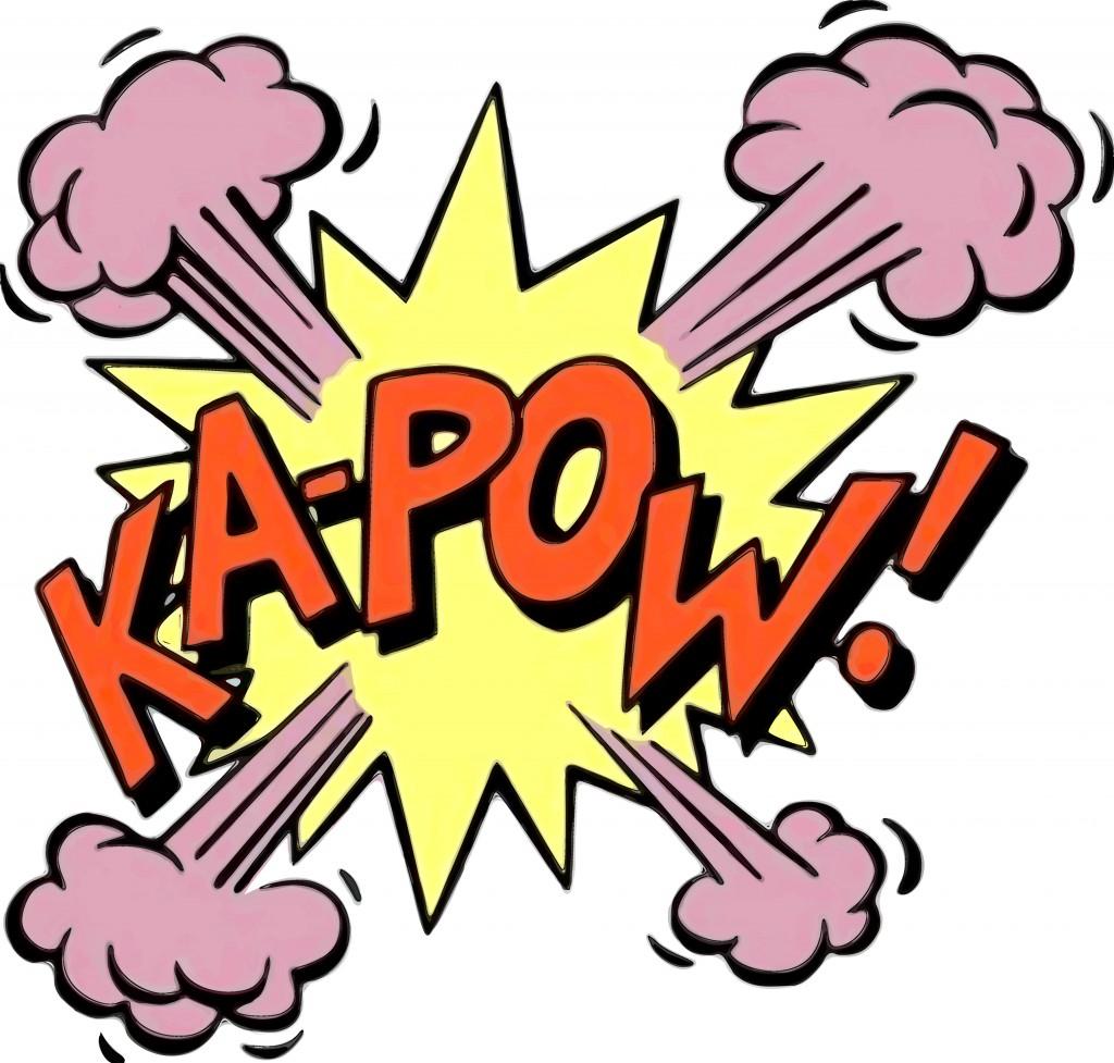 1024x977 Boom Clipart Kapow