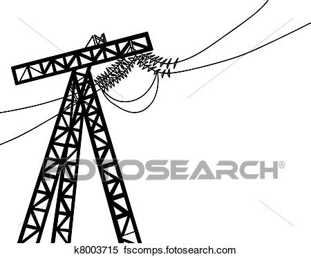 450x372 Electric Pole Clip Art Eps Images. 1,237 Electric Pole Clipart