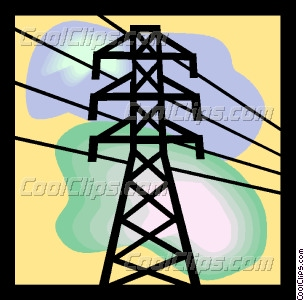 304x300 For Electric Power Lines Clipart
