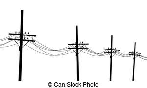 300x181 Power Line Clipart Electricity Pole