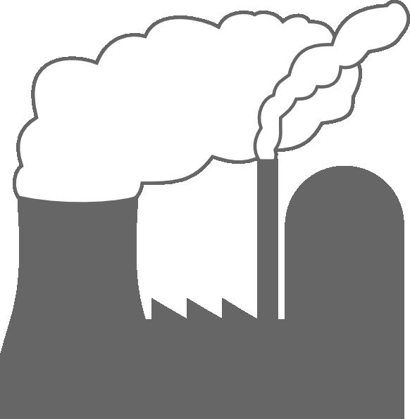 582x596 Power Plant Clip Art