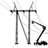 170x170 Power Pole Clip Art