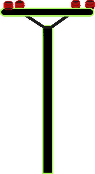 324x593 Telephone Pole Clip Art