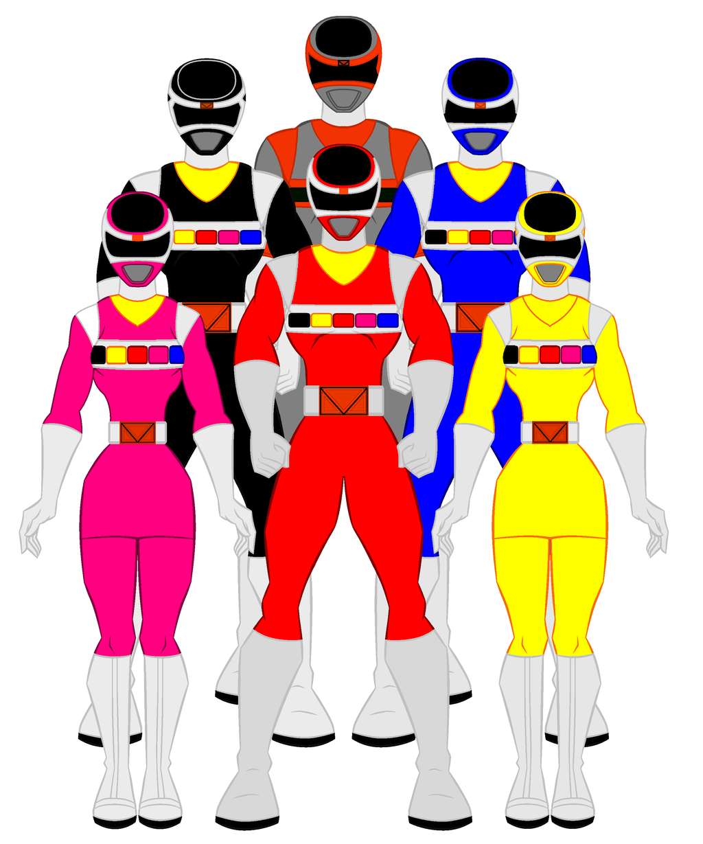 1024x1229 Power Rangers Favourites By Omcgeachie