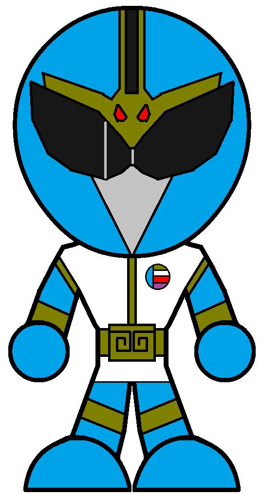 540x1014 Blue Clipart Power Ranger