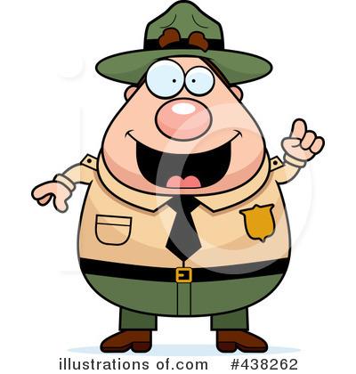 400x420 Forest Ranger Clipart
