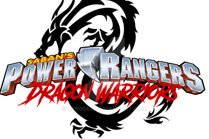 800x531 Power Rangers Dragon Warriors Logo By Zer0geo