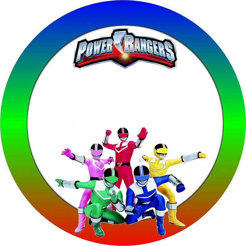 800x800 Power Rangers Free Printable Candy Buffet Labels. Is It