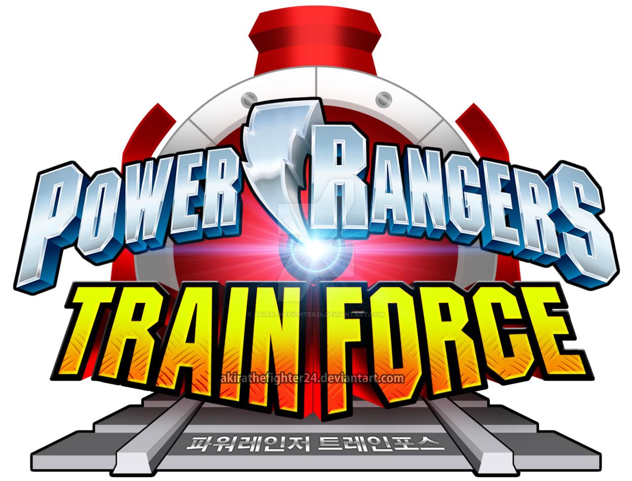 1280x975 Power Rangers Train Force English Logo (Fanmade) By