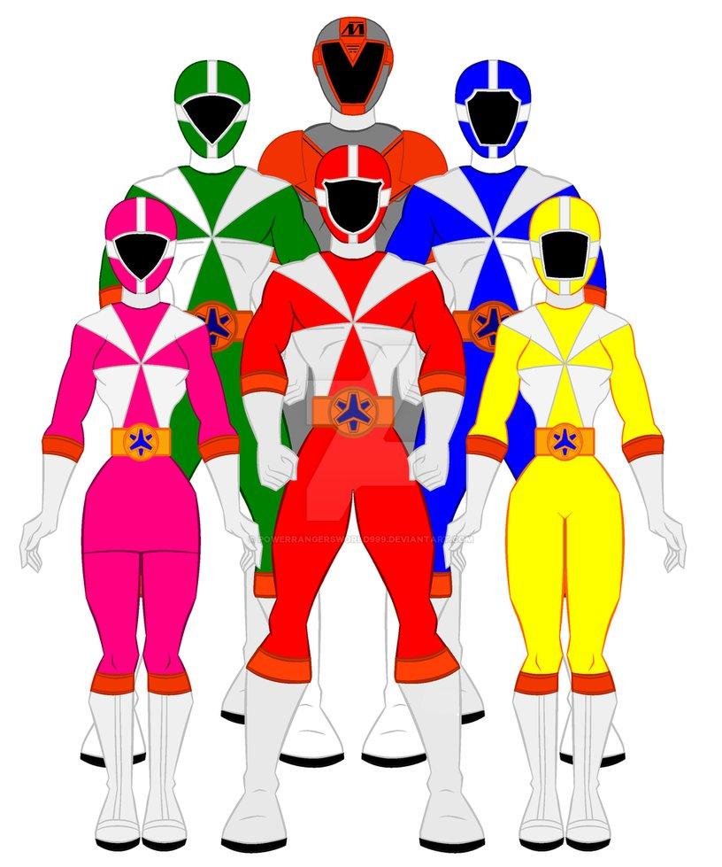 816x979 8. Power Rangers Lightspeed Rescue By Powerrangersworld999