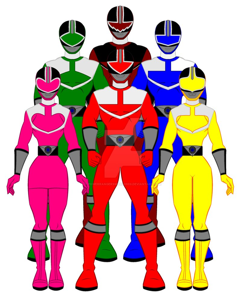 816x979 9. Power Rangers Time Force By Powerrangersworld999