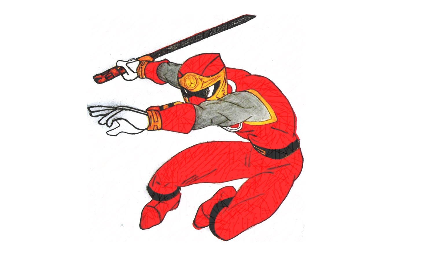 1500x885 How To Draw Red Ranger Storm