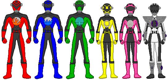 541x261 Power Rangers Original Pixels By Firebirdmaximus