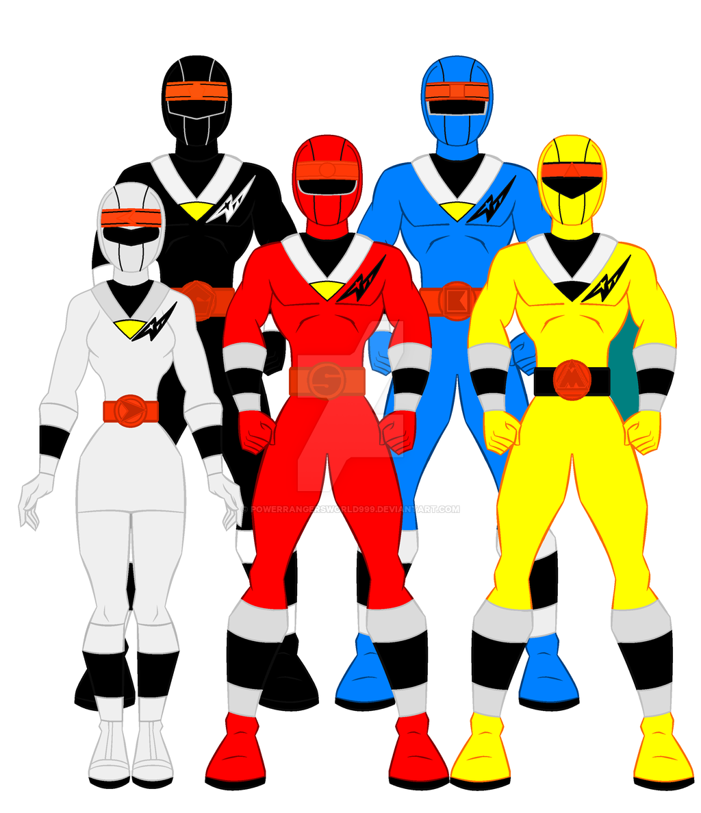 1024x1187 Power Rangers Favourites By Omcgeachie