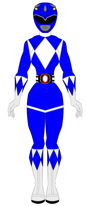 1024x2454 Blue Clipart Power Ranger
