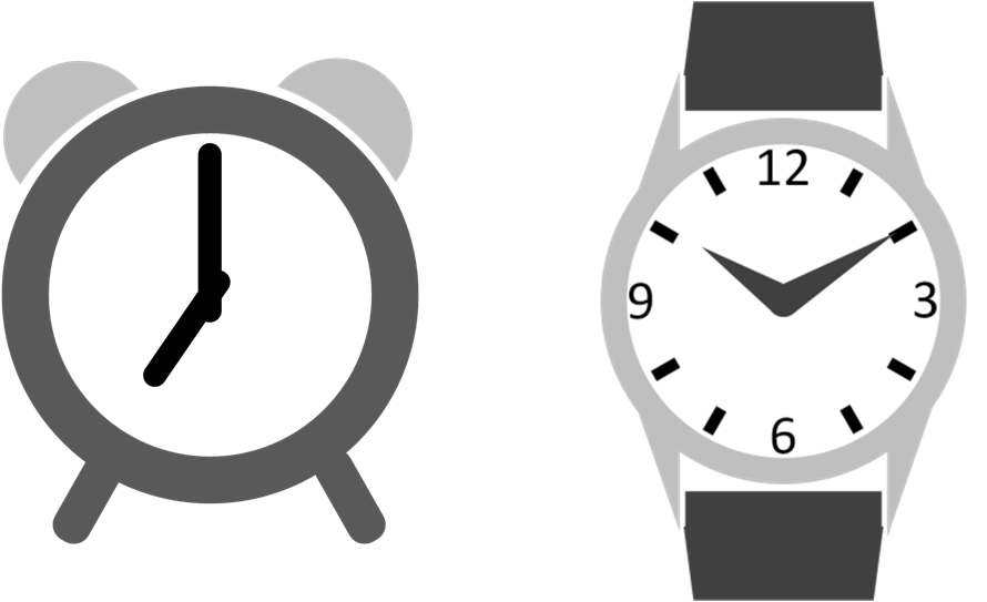 890x543 Drawing In Powerpoint Clock Icons Powerpointy