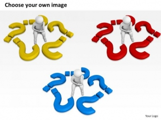 323x242 Business People Clip Art 3d Sad Man With Lots Of Question Marks