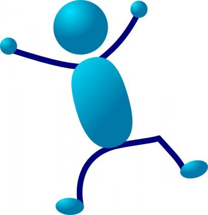 411x425 Powerpoint Stick Figure Clip Art