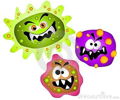 400x333 Bacteria Clipart Bacterias Clipart De Los Virus De Los G