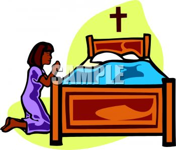 350x298 Royalty Free Clip Art Image Little Girl Saying Her Prayers