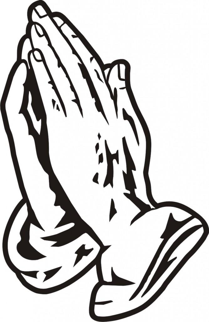 667x1024 Prayer Hands Clipart