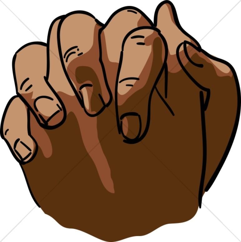 772x776 Praying Africanamerican Girl + Clipart