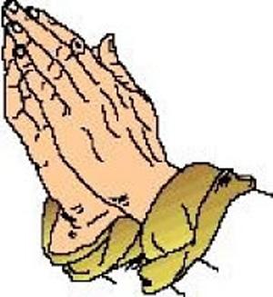 300x327 Clip Art Praying Hands Clipart Panda