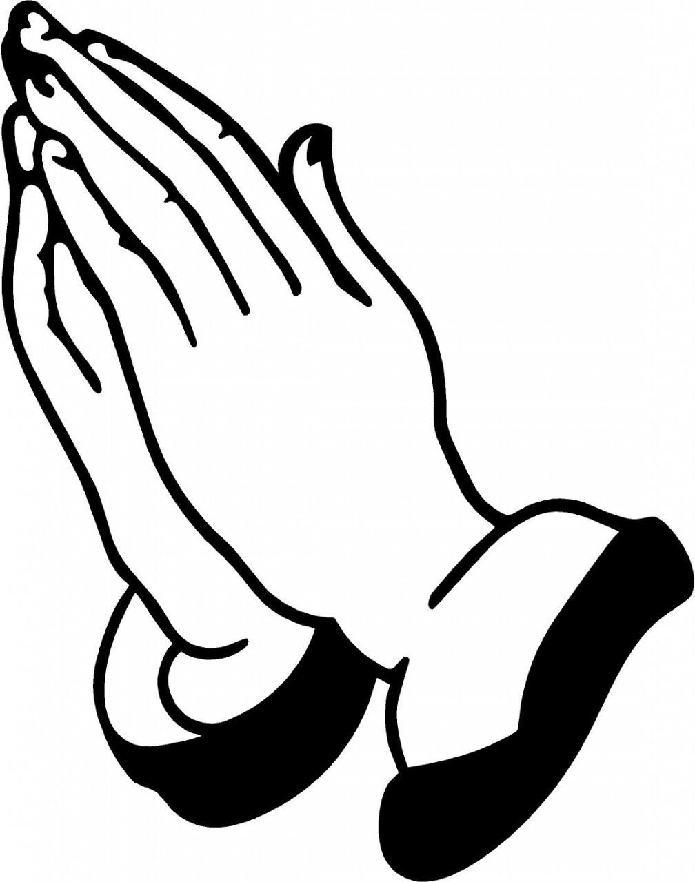 1008x1280 Hands Praying Clipart