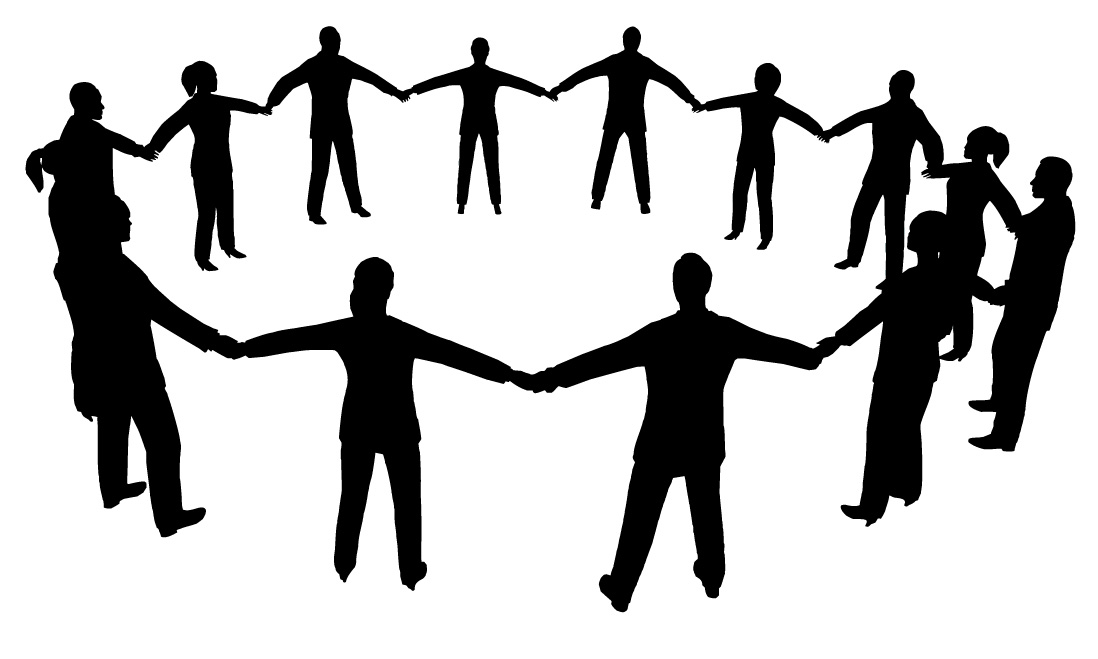 1098x659 People Clip Art Black And White Free Clipart Images