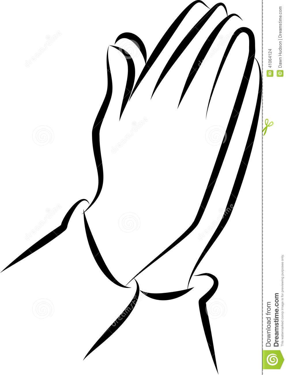 999x1300 Praying Hands Clip Art