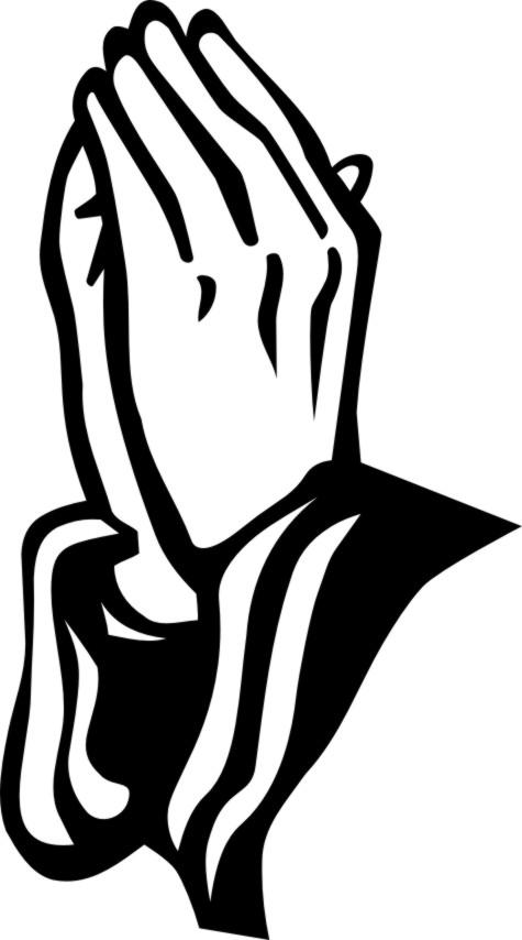 475x854 Christian Praying Hands Clipart
