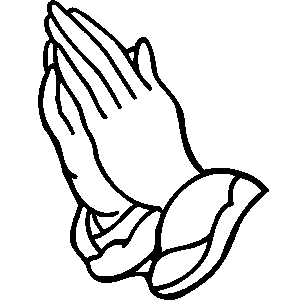 300x300 Praying Hands Clip Art