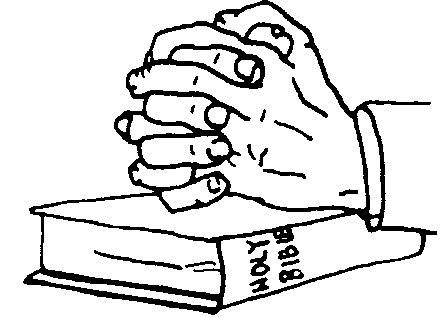 445x317 Hands With Bible Clipart Gif