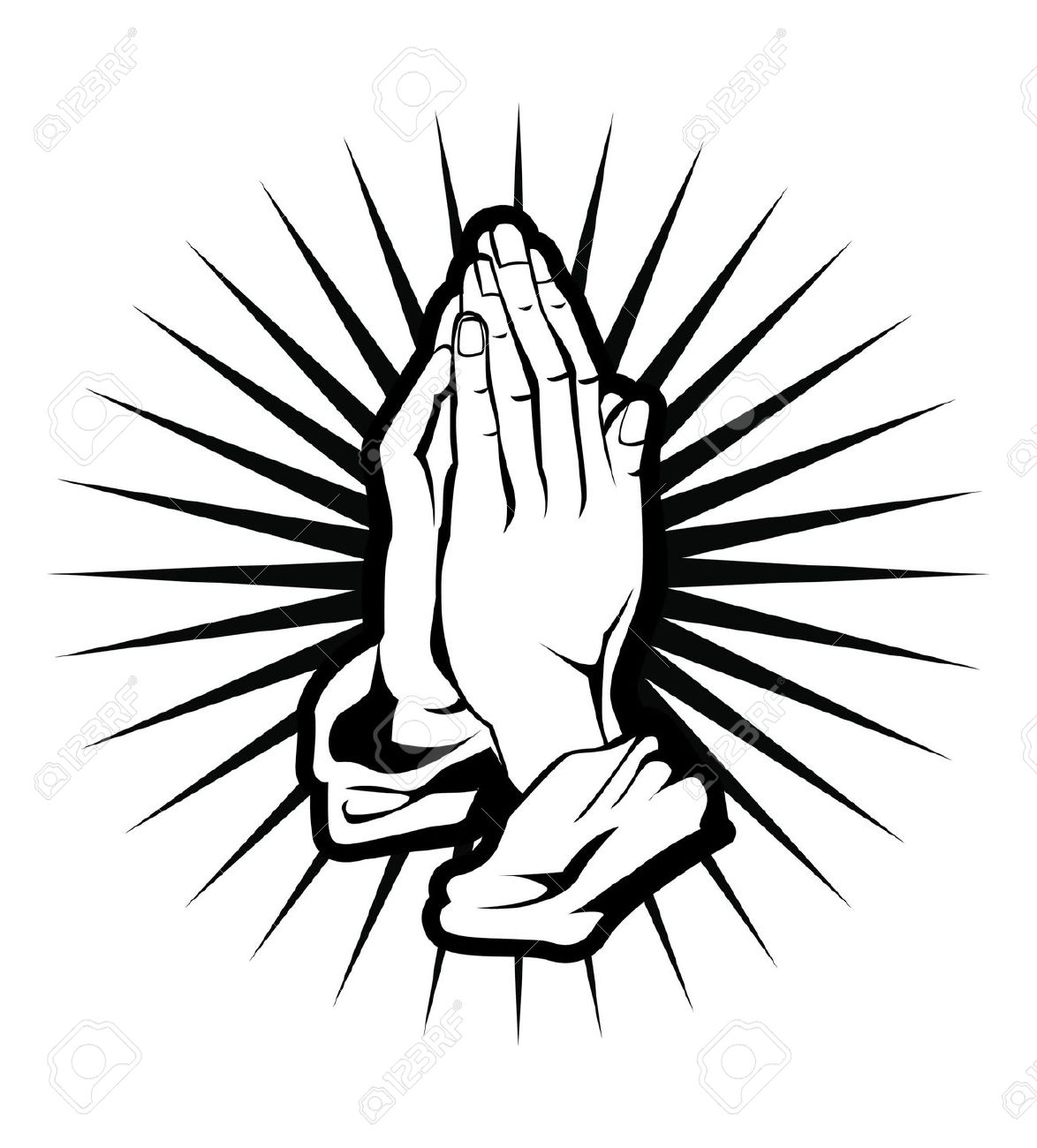 1174x1300 Bible And Praying Hands Clipart