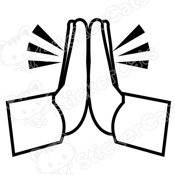 570x570 Emojis For Prayer Hands Emoji Www.emojilove.us