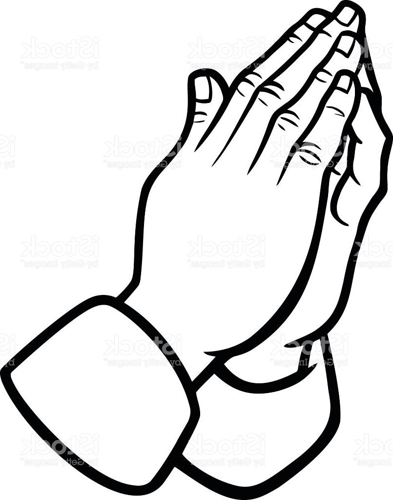 805x1024 Top Praying Hands Illustration Vector Photos