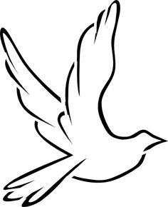 236x290 Nativity Pencil Drawings Dove Peace Black White Line Art