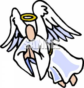 287x300 Picture A Praying Angel Flying