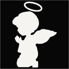 236x236 16 Little Girl Praying Silhouette Vector Images Papel