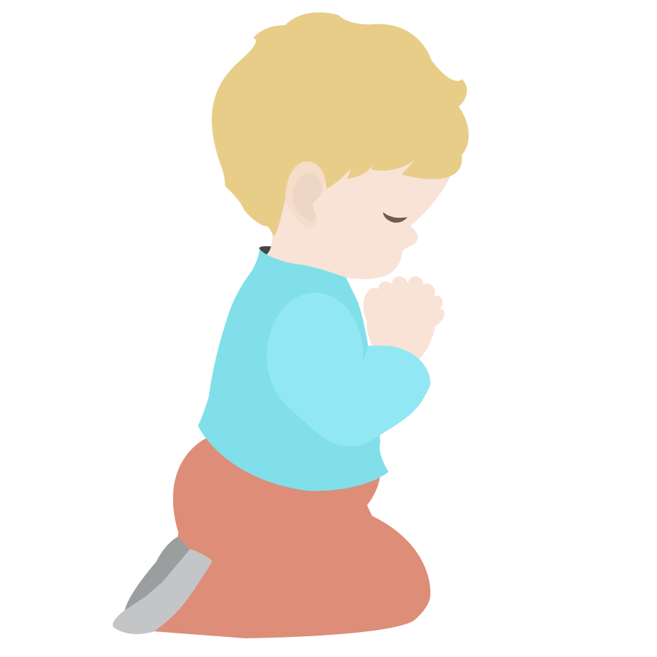 948x948 Praying Child Clipart