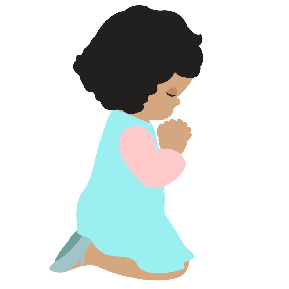 948x948 Best Children Praying Clipart