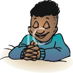 298x300 Picture A Black Boy Praying At Bedtime