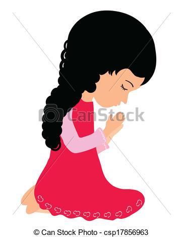 363x470 Praying Girl Clipart 101 Clip Art